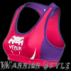 venum body fit top pink purple 1